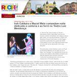 Blog do Recife 11/05/12 - Irah Caldeira e Maciel Melo no Teatro Luiz Mendonça