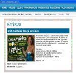Radio e notícias - 01/09/2012 - Lançamento novo CD na Casa de Mainha