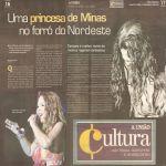 A UNIAO - João Pessoa 31/03/10 - Princesa de Minas no forró do Nordeste