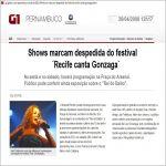 G1 Globo.com 26/04/12 - Despedida do Festival Recife canta Gonzaga