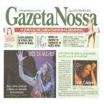 Gazeta Nossa - 15/03/10 - Comemoração do Dia da Mulher