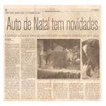 Jornal O Norte 05/09/07 - João Pessoa-PB - Irah no Auto de Natal