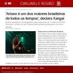TV Asa Branca - 24/07/2014 - Ariano marca na história do Nordeste