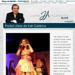 Blog de Joao Alberto - 11/05/12 - Pocket show de Irah Caldeira