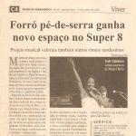 Diario de Pernambuco 15/06/05 - Show de Irah no espaço Super 8