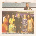 Diario de Pernambuco 23/11/11 - Coluna de João Alberto