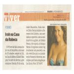 Diario de Pernambuco 23/06/11 - Irah na Casa da Rabeca do Brasil