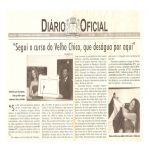 Diario Oficial 08/08/09 - Irah recebe título de cidadã do Recife