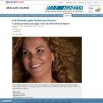 Gazeta Online 18/07/2012 - Irah no 12º Festival Nacional de Forró em Itaunas - ES