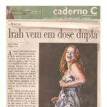 Jornal do Commercio 16/04/10 - Irah em dose dupla