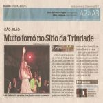 Diario de Pernambuco 23/06/11 - Muito forró no Sítio da Trindade